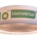 Abat-jour Rond Imprimé BP