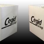 Abat-jour Carré imprimé Cegid