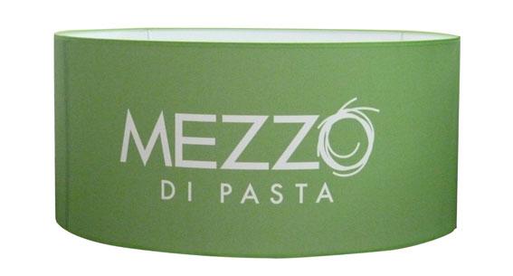 Abat-jour rond imprimé Mezzo di Pasta