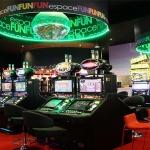 Grand Abat-jour imprimé Casino de Bandol